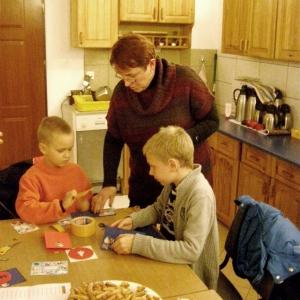 Kartki świąteczne w wykonaniu dzieci-3