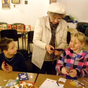 Kartki świąteczne w wykonaniu dzieci-4