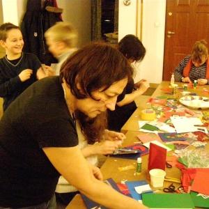 Kartki świąteczne w wykonaniu dzieci-9