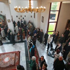 Nabożeństwo żałobne za ofiary katastrofy w Smoleńsku (11.04.2010)