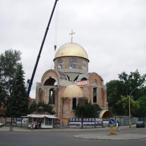 Budowa i osadzenie koleb (04.06.2007)-12