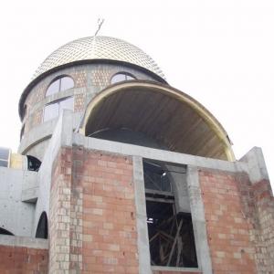 Budowa i osadzenie koleb (04.06.2007)-17