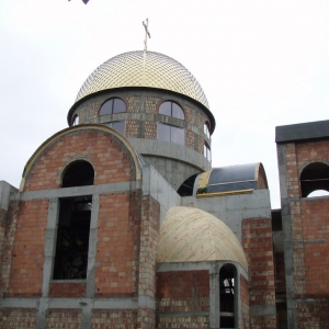 Budowa i osadzenie koleb (04.06.2007)-18
