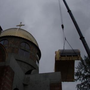 Budowa i osadzenie koleb (04.06.2007)-1