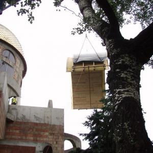 Budowa i osadzenie koleb (04.06.07)