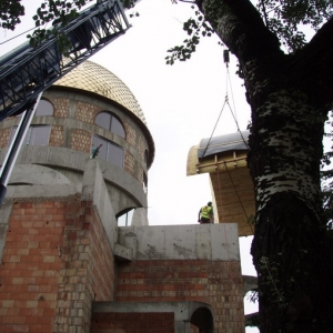 Budowa i osadzenie koleb (04.06.2007)-3