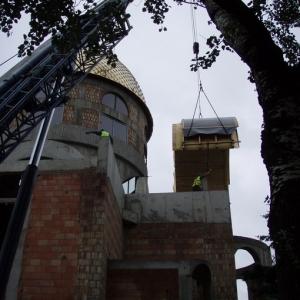 Budowa i osadzenie koleb (04.06.2007)-4