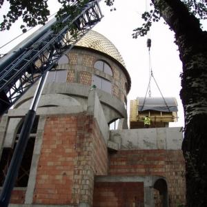 Budowa i osadzenie koleb (04.06.2007)-5