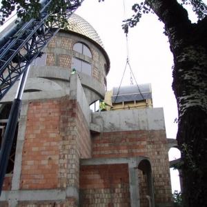 Budowa i osadzenie koleb (04.06.2007)-6