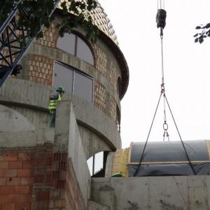 Budowa i osadzenie koleb (04.06.2007)-8