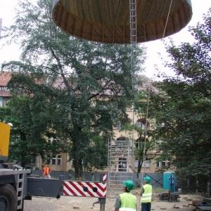 Budowa i ustawienie kopuły (06-07.2006)-12