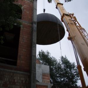 Budowa i ustawienie kopuły (06-07.2006)-16