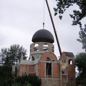 Budowa i ustawienie kopuły (06-07.2006)-18
