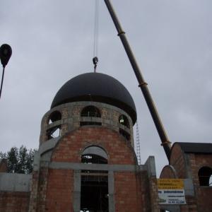 Budowa i ustawienie kopuły (06-07.2006)-19