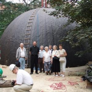 Budowa i ustawienie kopuły (06-07.2006)-2