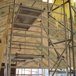 Budowa i ustawienie kopuły (06-07.06)