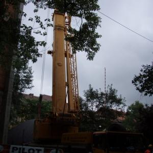Budowa i ustawienie kopuły (06-07.2006)-3