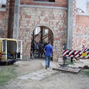 Budowa i ustawienie kopuły (06-07.2006)-5