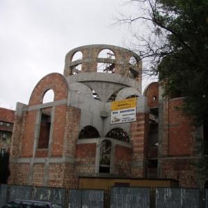 Budowa i ustawienie kopuły (06-07.2006)-6