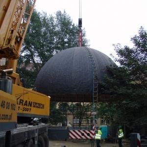 Budowa i ustawienie kopuły (06-07.2006)-8