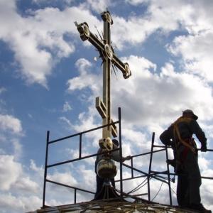Postawienie Krzyża (14.10.06)-13
