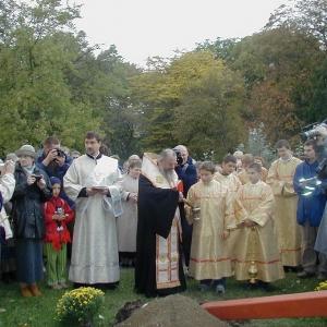 Poświęcenie placu (11.10.2003)-15