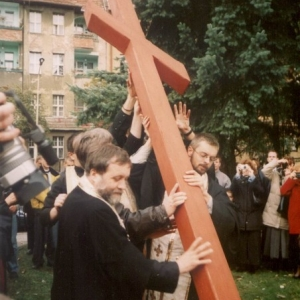 Poświęcenie placu (11.10.2003)-17