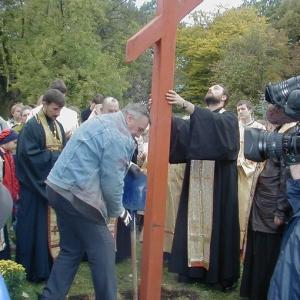 Poświęcenie placu (11.10.2003)-19