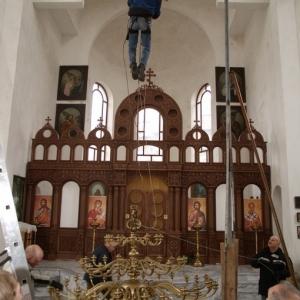 Wieszanie panikadiła (31.12.2009)-11