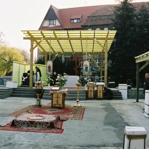 Wmurowanie kamienia węgielnego (04.2004)-4