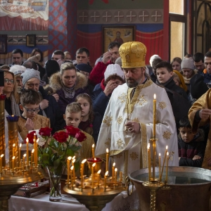 Fotorelacja z XXXI niedzieli - Chrzest Pański, Wielkie poświecenie wody (19.01.2020)_11