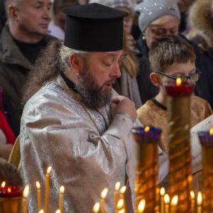 Fotorelacja z XXXI niedzieli - Chrzest Pański, Wielkie poświecenie wody (19.01.2020)_12