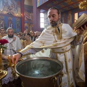 Fotorelacja z XXXI niedzieli - Chrzest Pański, Wielkie poświecenie wody (19.01.2020)_13