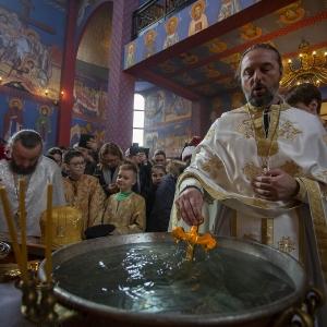 Fotorelacja z XXXI niedzieli - Chrzest Pański, Wielkie poświecenie wody (19.01.2020)_14