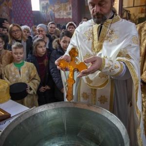 Fotorelacja z XXXI niedzieli - Chrzest Pański, Wielkie poświecenie wody (19.01.2020)_15
