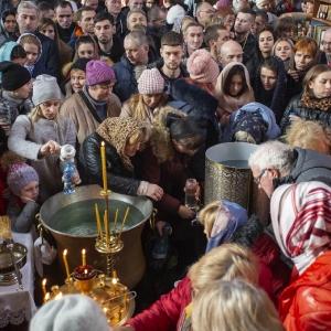 Fotorelacja z XXXI niedzieli - Chrzest Pański, Wielkie poświecenie wody (19.01.2020)_18
