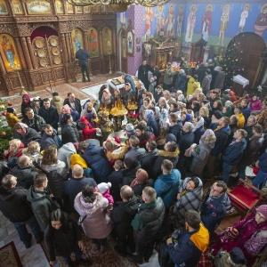 Fotorelacja z XXXI niedzieli - Chrzest Pański, Wielkie poświecenie wody (19.01.2020)_20