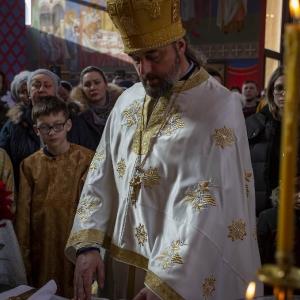 Fotorelacja z XXXI niedzieli - Chrzest Pański, Wielkie poświecenie wody (19.01.2020)_3