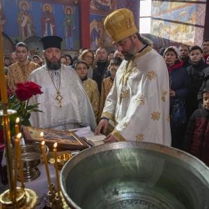 Fotorelacja z XXXI niedzieli - Chrzest Pański, Wielkie poświecenie wody (19.01.2020)