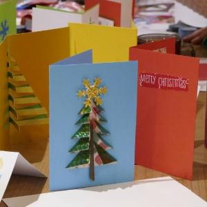 Kartki świąteczne najmłodszych parafian (2018)