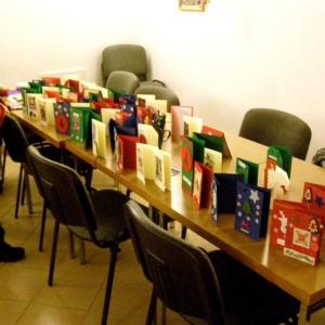 Kartki świąteczne w wykonaniu dzieci-8