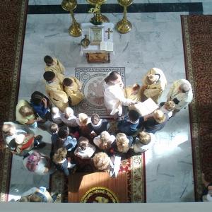 Modlitwa za uczniów i nauczycieli (9.09.2012)