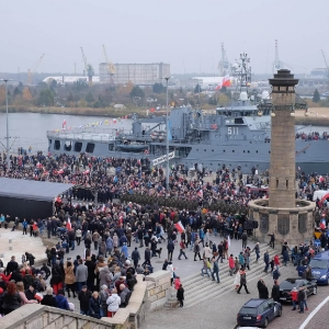 Molebien z okazji 100 rocznicy niepodległości (11.11.2018) fot. Jarosław Cyryl Kaczmaczyk