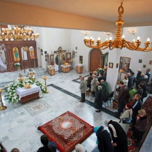 Nabożeństwo żałobne za ofiary katastrofy w Smoleńsku (11.04.2010)-13