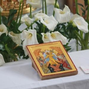 Nabożeństwo żałobne za ofiary katastrofy w Smoleńsku (11.04.2010)-14