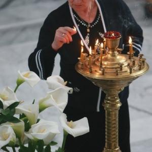 Nabożeństwo żałobne za ofiary katastrofy w Smoleńsku (11.04.2010)-15