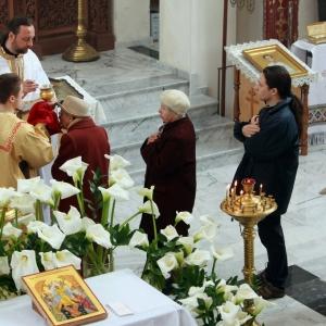 Nabożeństwo żałobne za ofiary katastrofy w Smoleńsku (11.04.2010)-17