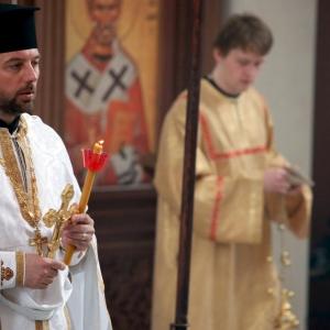 Nabożeństwo żałobne za ofiary katastrofy w Smoleńsku (11.04.2010)-18