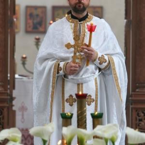 Nabożeństwo żałobne za ofiary katastrofy w Smoleńsku (11.04.2010)-19
