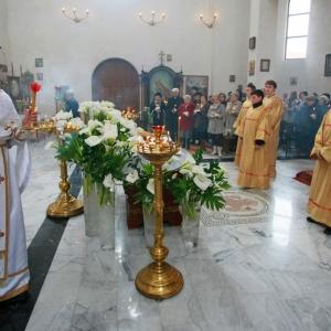 Nabożeństwo żałobne za ofiary katastrofy w Smoleńsku (11.04.2010)-7